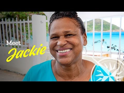 Meet Jackie Purveyor of Authentic Food on Airport Road, St. Thomas