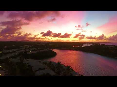 Sunset Over Verandah Resort, Antigua