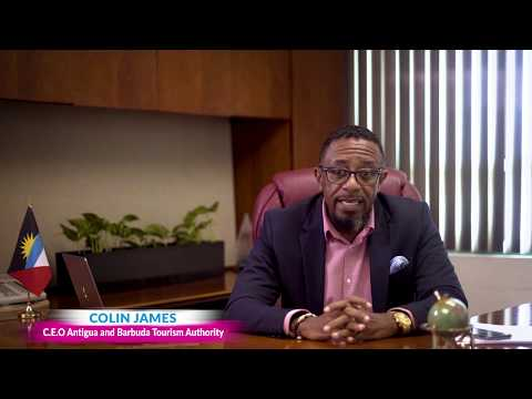 Antigua and Barbuda Tourism Authority's message from CEO, Mr. Colin James on COVID-19.