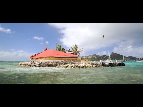 Jumping Over Happy Island - Kitesurfing Movie by Jeremie Tronet