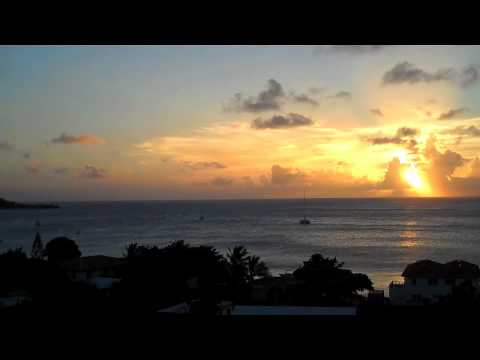 Sunset Over Grand Case from L'Esplanade