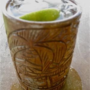British Naval Grog Rum Cocktail