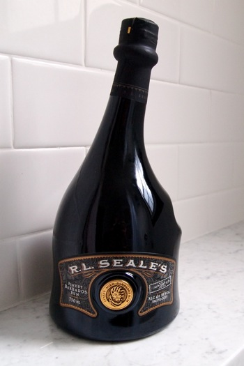 R L Seale S Elegant Rum In A Bottle To Match