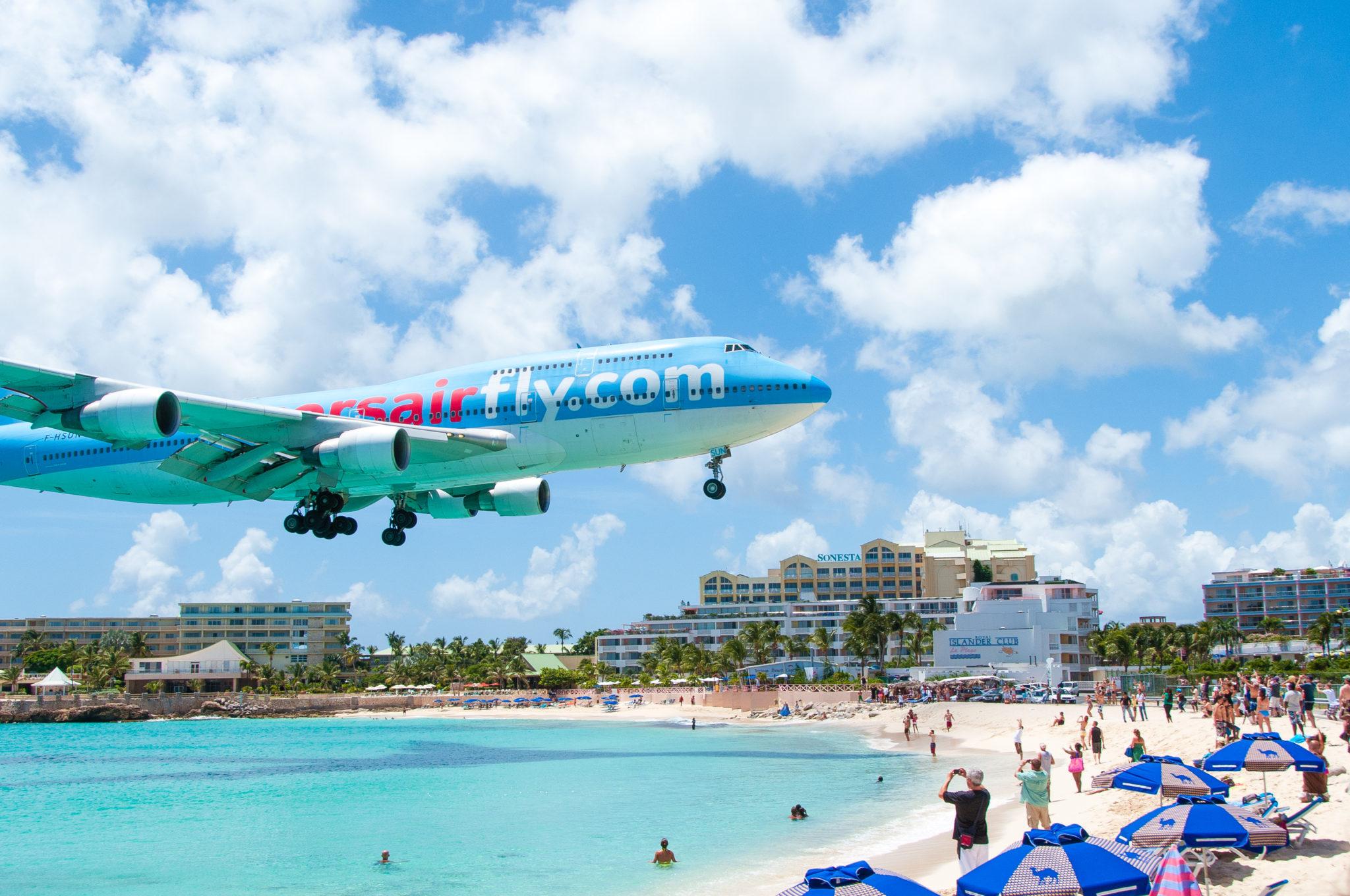 Maho Bay Beach, St. Martin/St. Maarten