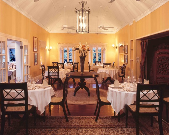 The Great House Dining Room/courtesy Nisbet Plantation
