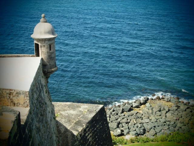 El Morro Sentry Box