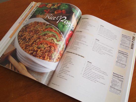 Photos & Nutritional info highlight updates found in the latest Naparima Cookbook/SBPR
