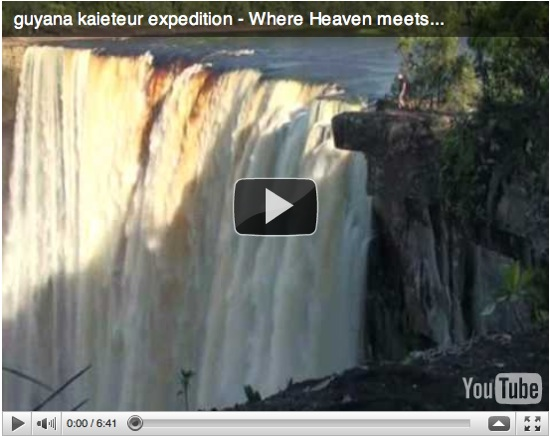 Saturday Video Expedition To Kaieteur Falls Guyana