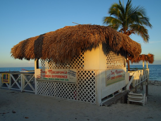 Tony Macaroni's on Grand Bahama Island/SBPR