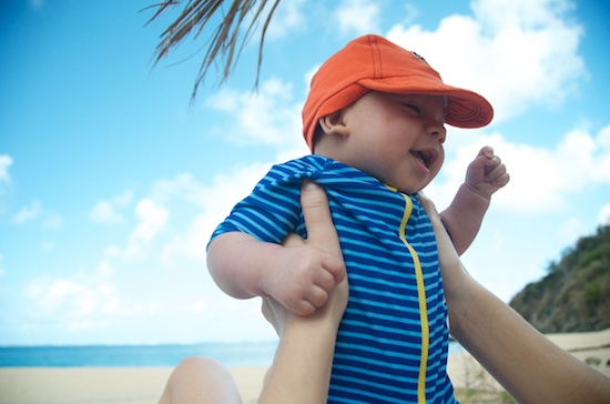 New Baby Infant Traveler - Beach