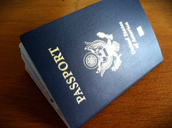 My new passport
