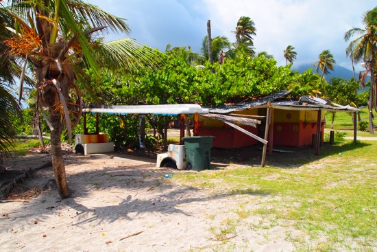Beachfront fixer-upper, Nevis/SBPR