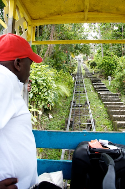 Trolly ride at Oasis Marigo by Patrick Bennett