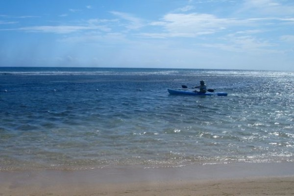 Morning kayak in MoBay/SBPR