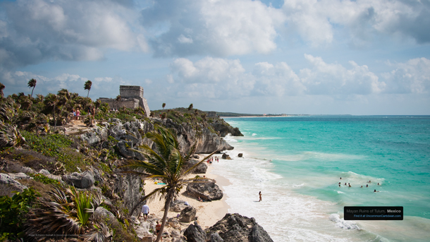 Mayan Ruins of Tulum, Mexico by Patrick Bennett