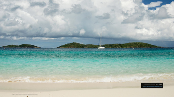 Solomon Beach, St. John Your Own Private Nude Beach