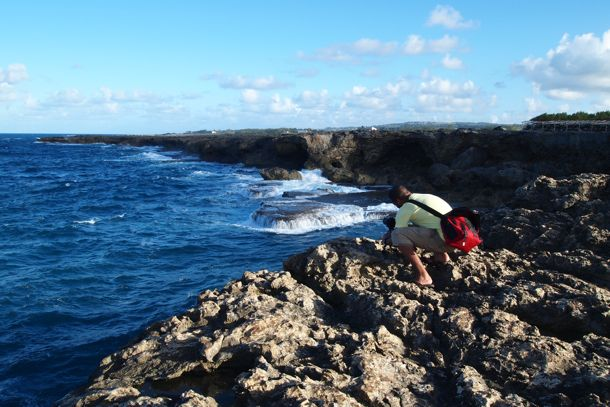 Photographing North Point, Barbados