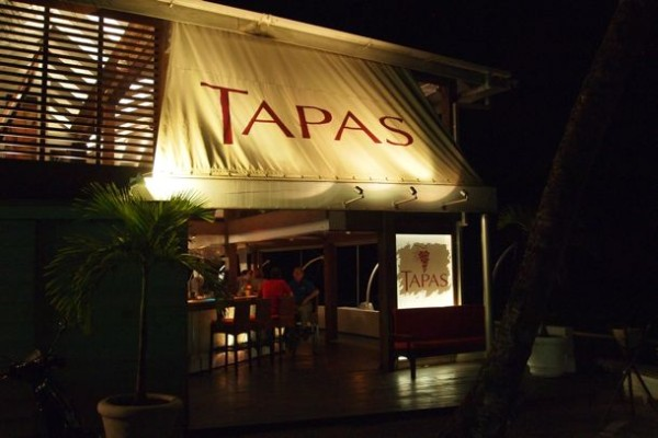 Entrance to Tapas, Barbados/SBPR