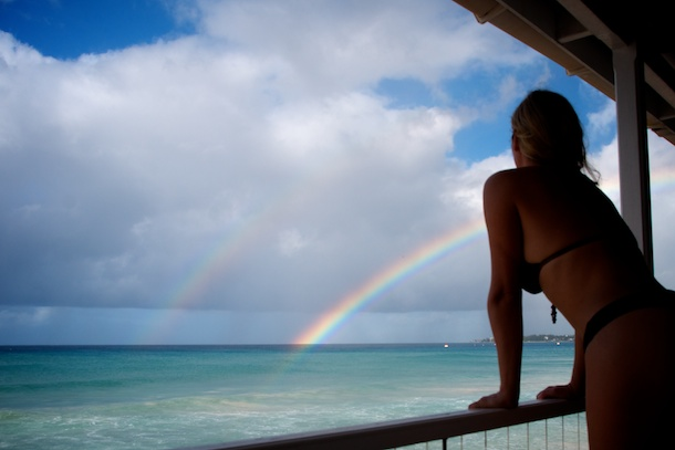 Rainbow's Off Cotton House 2, Barbados by Patrick Bennett