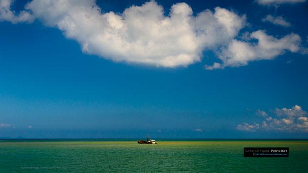Sunken Off Fajardo, Puerto Rico