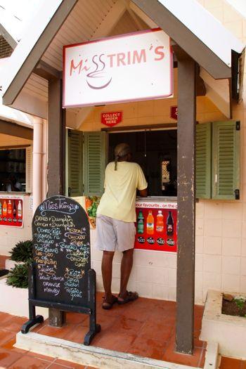 Miss Trim's at Store Bay, Tobago