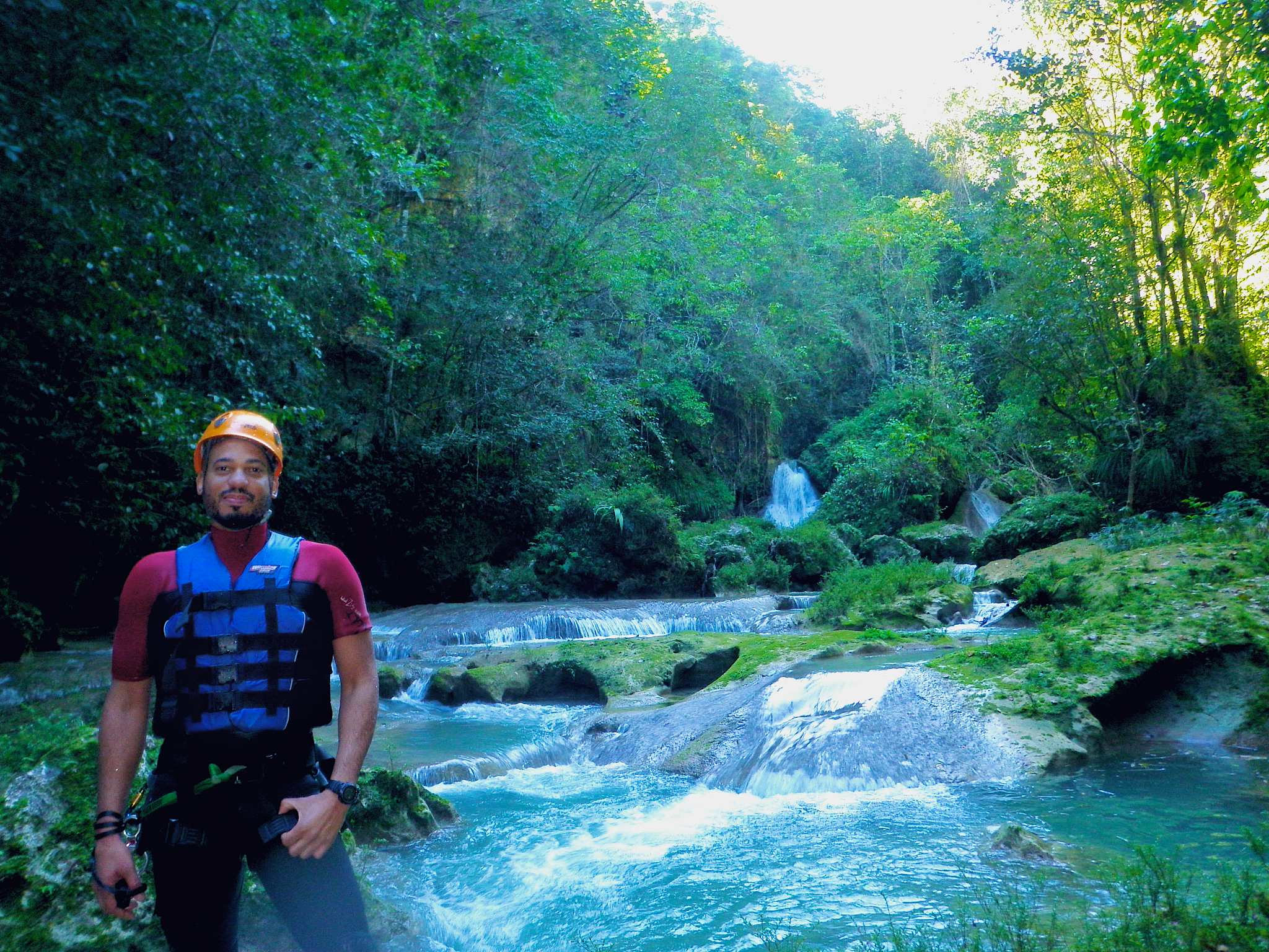 On Site Cabarete Canyoning Ciguapa Falls With Iguana Mama Adventure Tours Cabarete