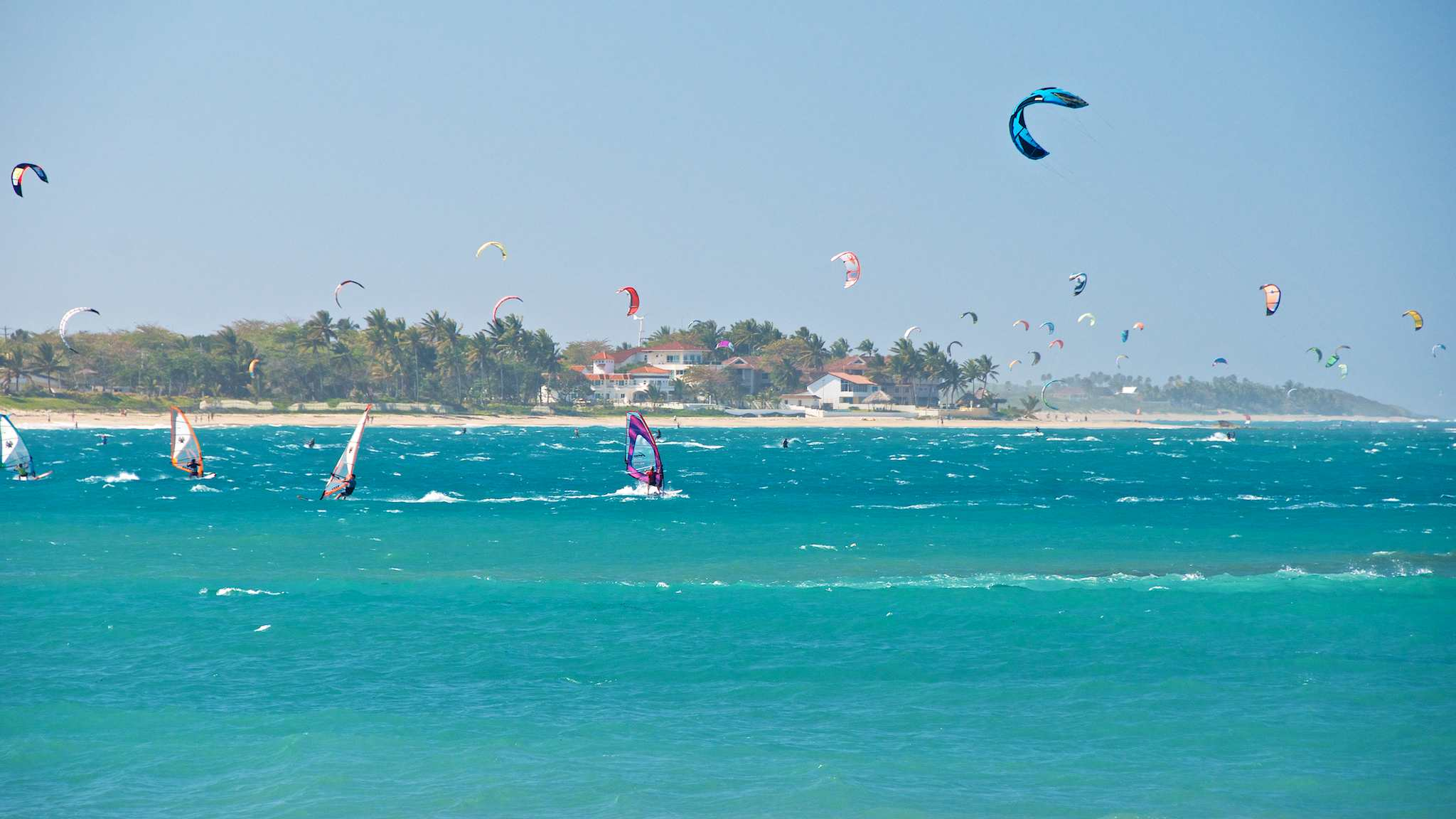 On Site Cabarete Learn Kiteboarding In The Action Sports