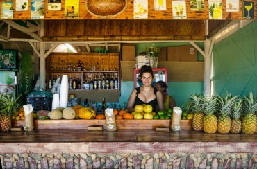 Mojito Bar, Cabarete, Dominican Republic by Patrick Bennett
