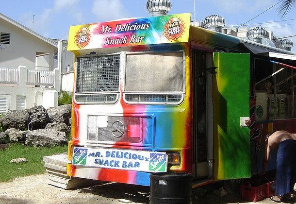 Mr Delicious Snack Bar Barbados by Mike Moradi via Flickr