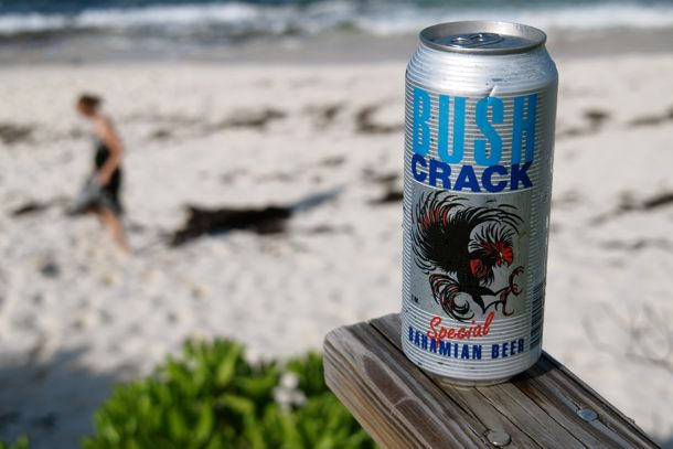 Bush Crack Truly Cheap Bahamian Beer