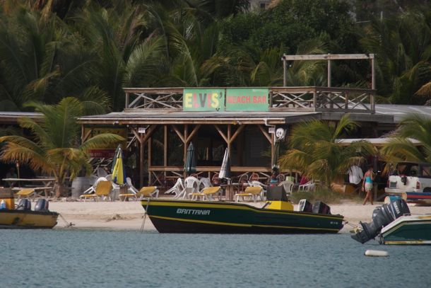 Elvis' Beach Bar, Sandy Ground, Anguilla
