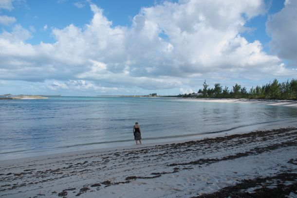 Beachcombing in The Bahamas