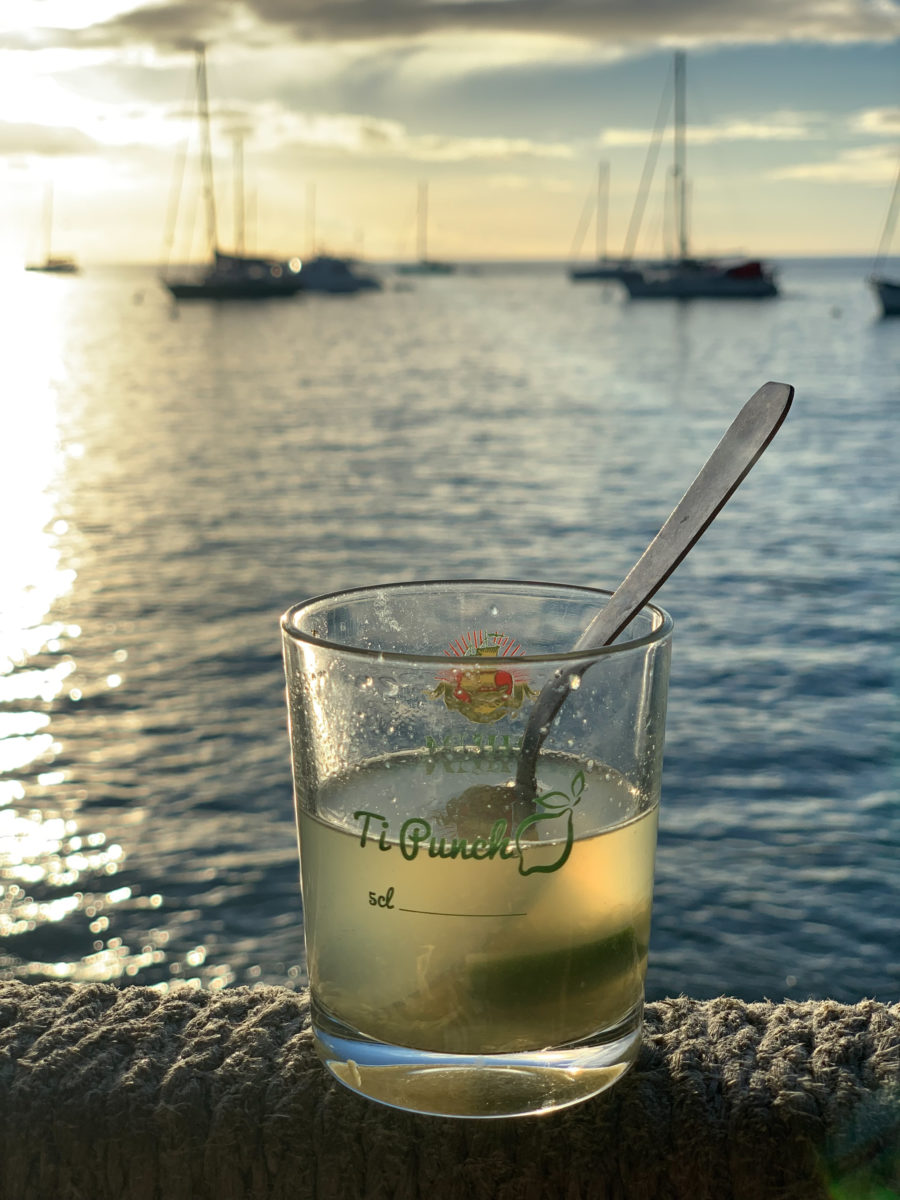 Ti' Punch by the sea