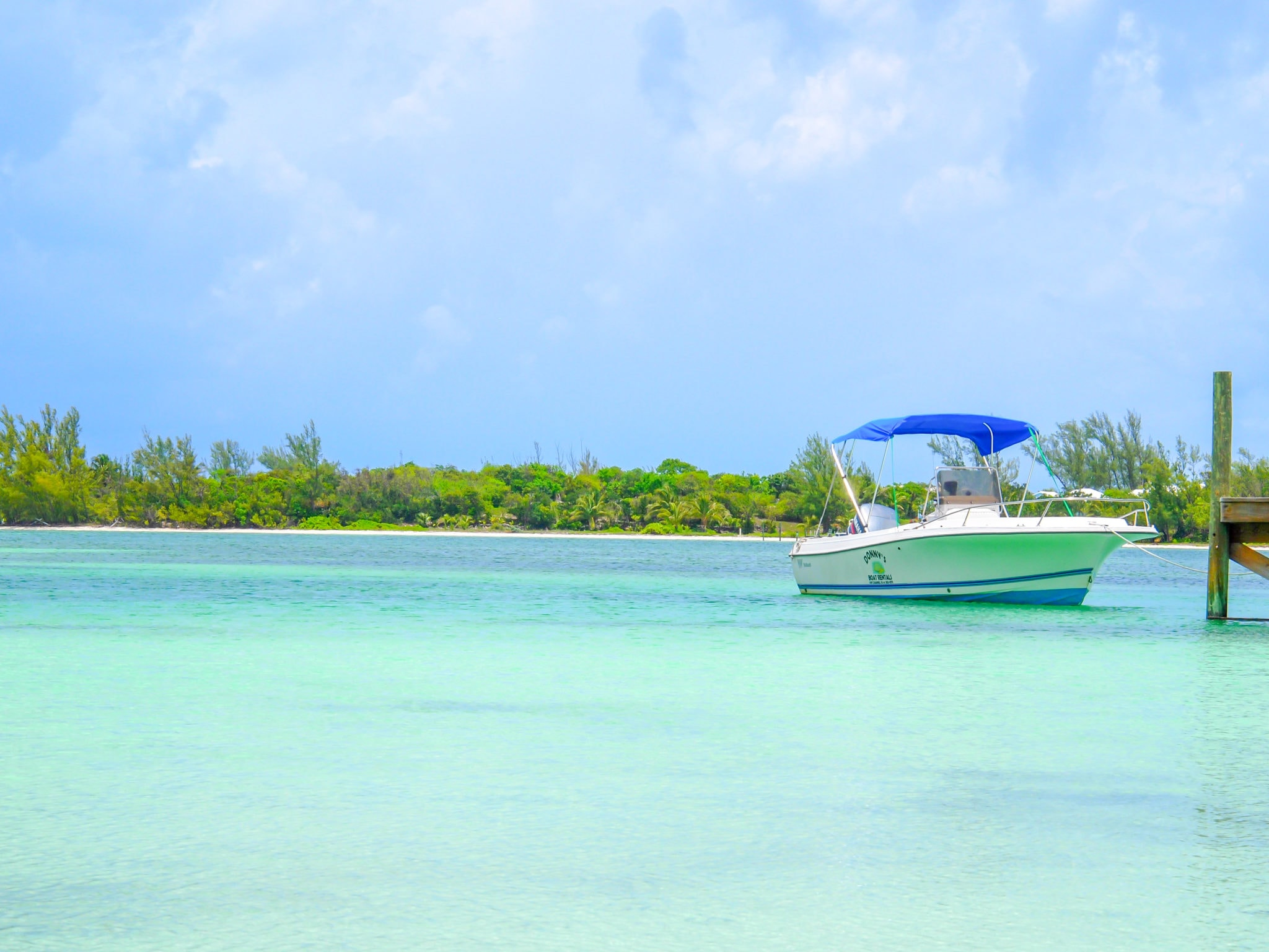 Coolin' on Coco Beach, Green Turtle Cay, Bahamas