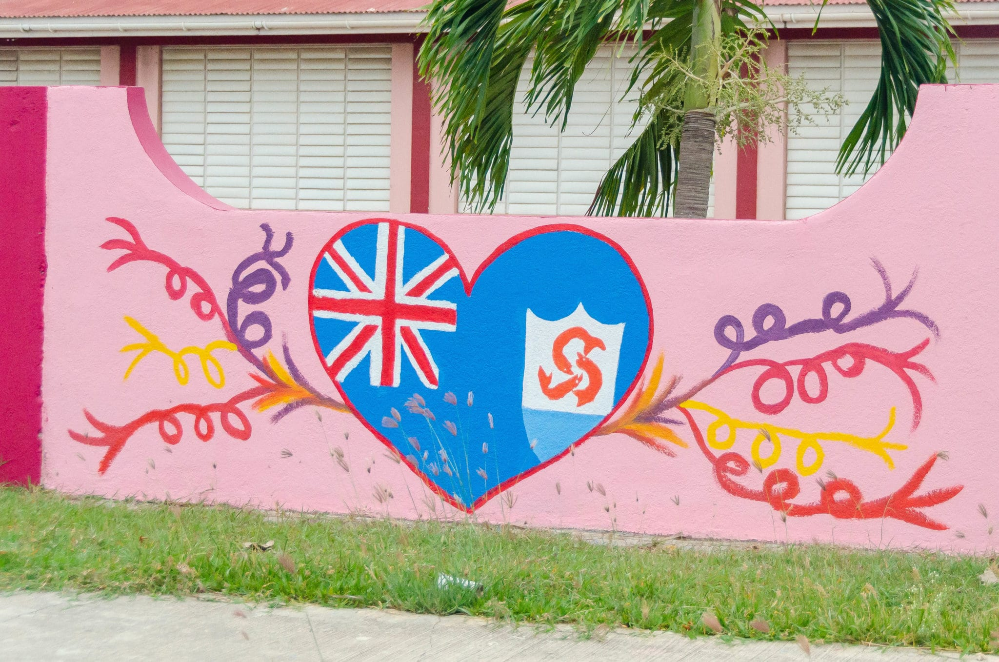 Anguilla National Symbols – Learn All You Need From a Wall