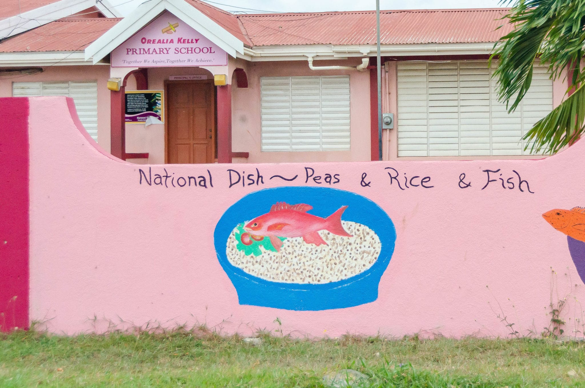 Anguilla National Symbols - Peas, Rice, & Fish