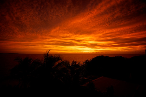 Sunset at Àni Villas, Anguilla by Patrick Bennett