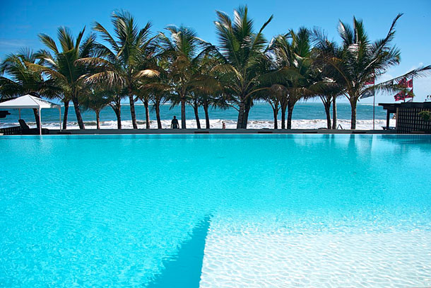 The Pool at The Millennium Resort Cabarete by Patrick Bennett