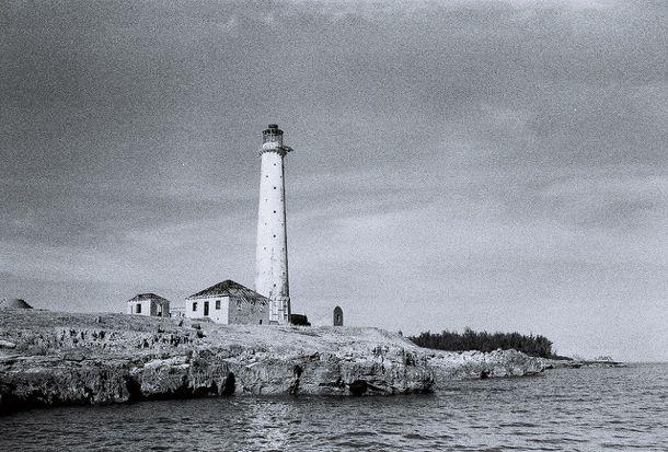 Haunted Caribbean Great Isaac Cay Lighthouse Bimini Bahamas Bahamas Bimini