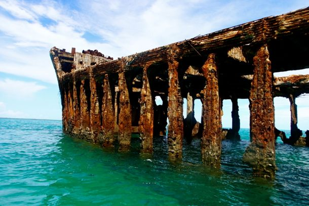 Uncommon Attraction The Spooky Wreck Of The Ss Sapona