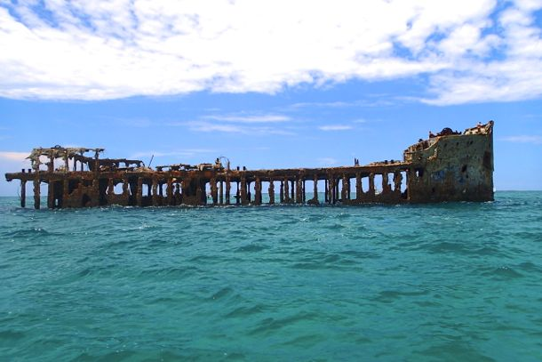 Wreck of the SS Sapona