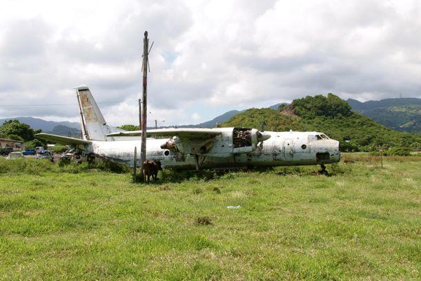 Cubana Airlines at Pearls Airport, Grenada