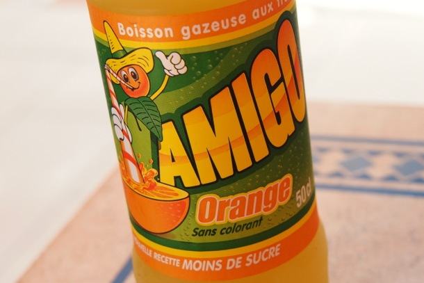 Taste Of The Caribbean Amigo Orange Soda From Martinique