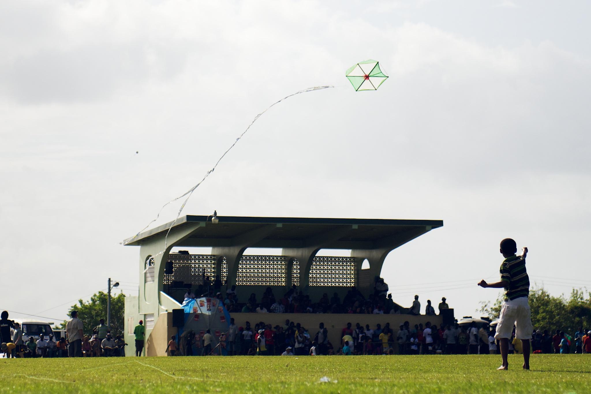 Tobago Flying Colours Kite Festival by Patrick Bennett