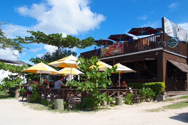 Umbrella's Beach Bar, Grenada