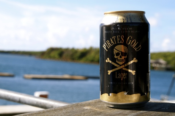 Pirates Gold Lager Beer from The Cayman Islands/SBPR