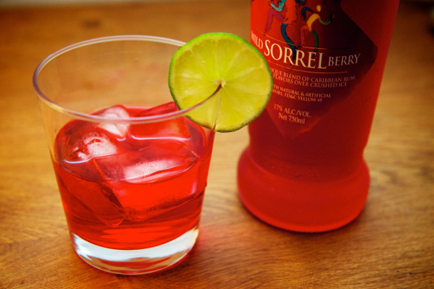 Angostura Caribbean Club Wild Sorrel Berry Rum Punch