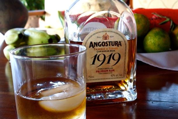 Angostura 1919 as enjoyed by me at The Villas at Stonehaven, Tobago/SBPR