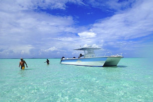 One sweet boat in some even sweeter water! | Credit: SBPR
