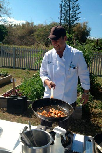 Chef Kai at Tryall